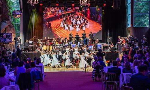Schwungvolle Eröffnung bei der Premiere des Schlossbergballs im Vorjahr