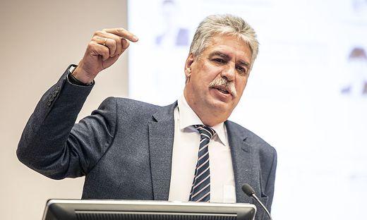 Wirtschaftspolitische Gespraeche 2020 - Podiumsdiskussion WIFI Klagenfurt Februar 2020