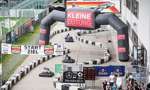 Kärnten Grand Prix Gokart Stadion Klagenfurt