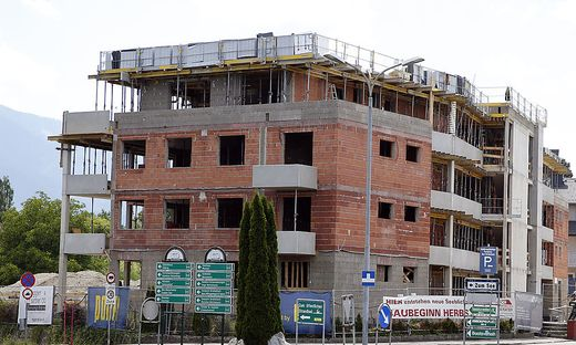 Appartmentbau, ehemals Radhotel am Faaker See