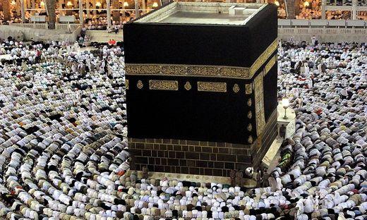 In Nicht-Coronazeiten schaut es in Mekka so aus