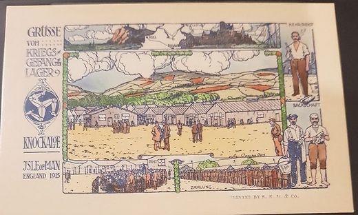 In den Lagern wurden auch Postkarten angefertigt