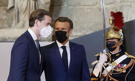 FRANKREICH: 'GENERATION EQUALITY FORUM' IN PARIS - BK KURZ/PRAeSIDENT MACRON