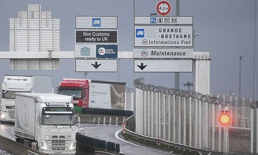 Fähre in Dover