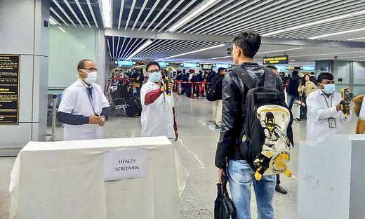 INDIA-HEALTH-VIRUSBereits neun Tote durch Corona-Infektionen in China