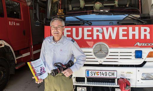 Richard Feichter ist seit 35 Jahren aktiv bei der Straßburger Feuerwehr
