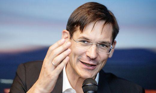 Georg Kopetz gründete vor 23 Jahren mit Vater Hermann Kopetz und stefan Poledena TTTech. Die Gruppe hat heute  1700 Mitarbeiter