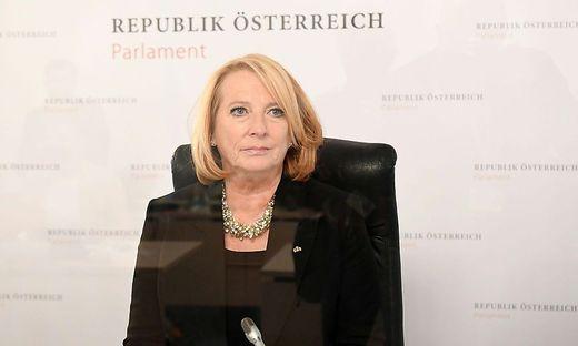 Doris Bures (SPÖ): Leidet immer noch unter den Folgen ihrer Corona-Erkrankung.