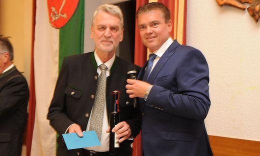 Helmut Michael Salomon und Hannes Tieber