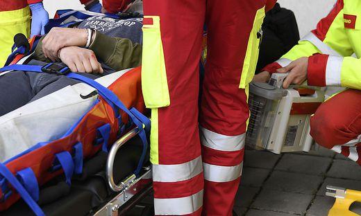 Zwei Personen wurden verletzt