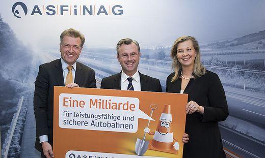 ASFINAG investiert 2018 mehr als eine Milliarde Euro in Autobahnen und Schnellstraßen