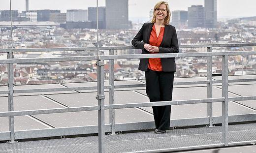 ERNEUERBAREN-AUSBAU-GESETZ Klimaschutzministerin Leonore Gewessler