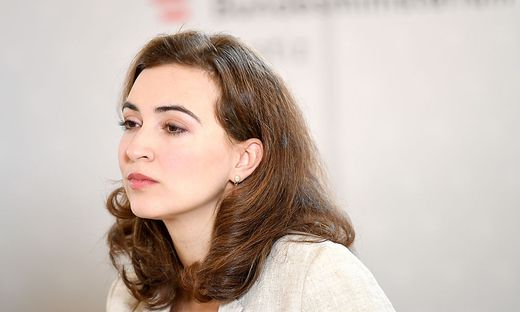Justizministerin Alma Zadić