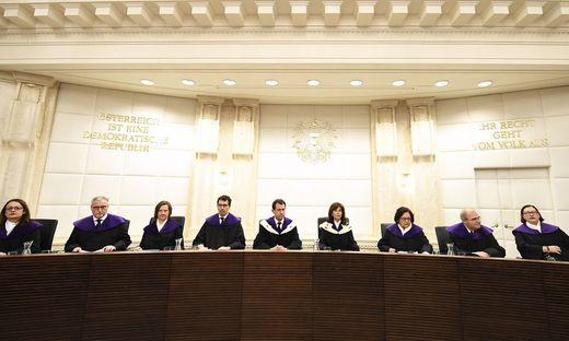 Der Verfassungsgerichtshof wies die Klage ab