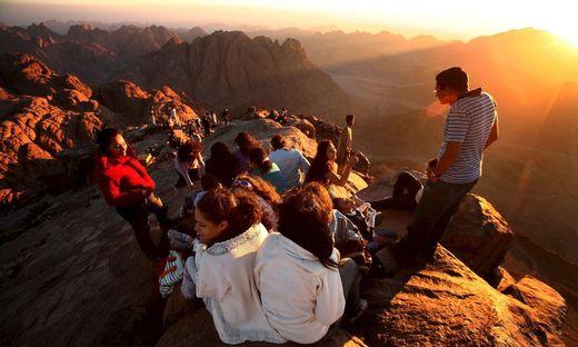 Heute wird der Gottesberg auf der Halbinsel Sinai lokalisiert