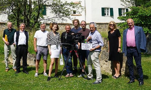 Drehstart fuer Schloesserstrasze-Film in Hartberg