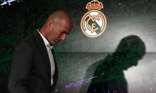 Zinedine Zidane verlässt Real Madrid