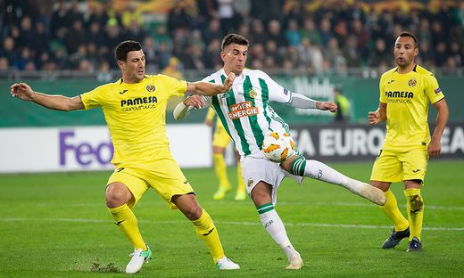FUSSBALL: EUROPA LEAGUE: SK RAPID WIEN - VILLARREAL