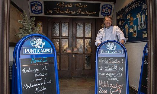 Sogar das Grazer Brauhaus Puntigam ist jetzt ein Nichtraucherlokal.