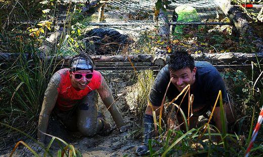 Monika und Peter Krobath teilen die Leidenschaft, gemeinsam durch den Gatsch zu robben. Sie veranstalten den Mürzathlon