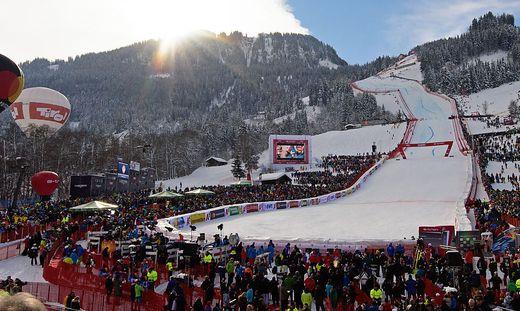 Zum 80. Mal finden in diesem Jahr in Kitzbühel die Hahnenkamm-Rennen statt