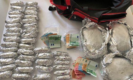 Sichergestellte Drogen: das Ministerium liefert die Zahlen.