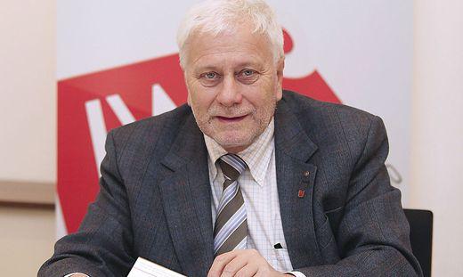 Der Ökonom Friedrich Schneider