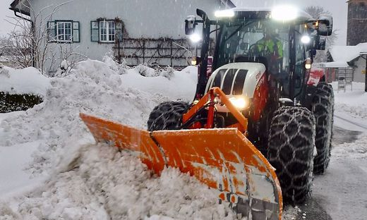 Seit der Nacht auf Samstag schneit es im Lesachtal und in Teilen Oberkärntens intensiv