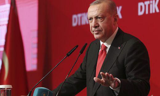 Erdogan: Werden niemals Waffenruhe erklären