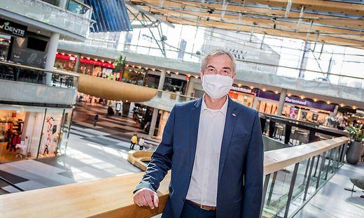 Atrio-Manager Richard Oswald freut sich auf die Öffnung der Gastronomiebetriebe
