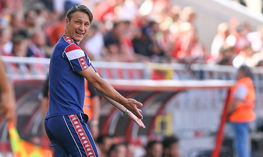 Monaco s head coach Niko Kovac pictured during a friendly soccer game between Belgian Royal Antwerp FC and French AS Mon