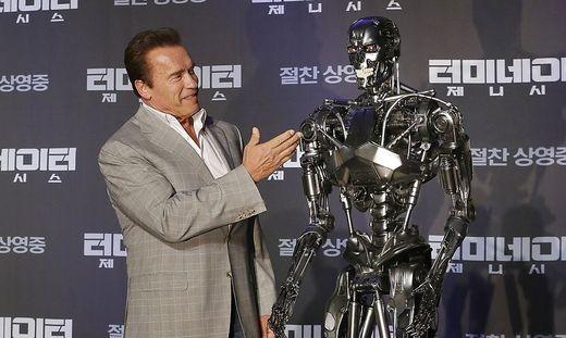 Für seine Rolle als denkende Tötungsmaschine wurde Arnold Schwarzenegger in Terminator berühmt