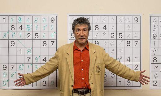 """Der Japaner Maki Kaji galt als """"Vater des Sudoku"""""""