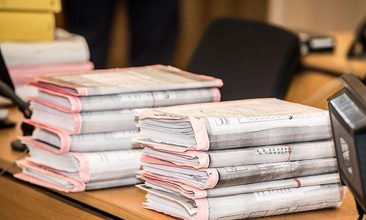Gerichtsverhandlung 'Hexen' 'Hexenprozess' Landesgericht Klagenfurt am 13.1.2020