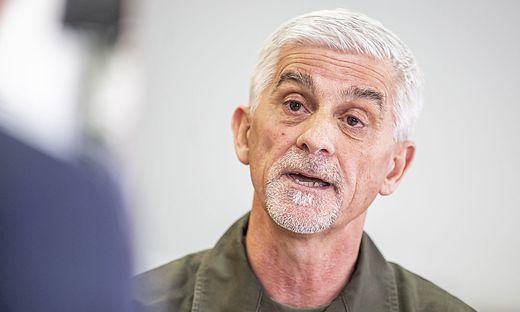 Kärntens Militärkommandant Walter Gitschthaler ist verärgert