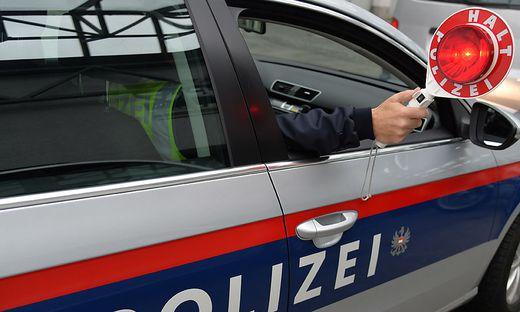 Die Polizei stoppte den Raser