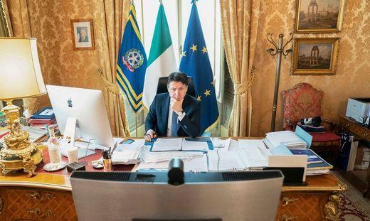 ITALY-HEALTH-VIRUS-POLITICS-EU-SUMMIT