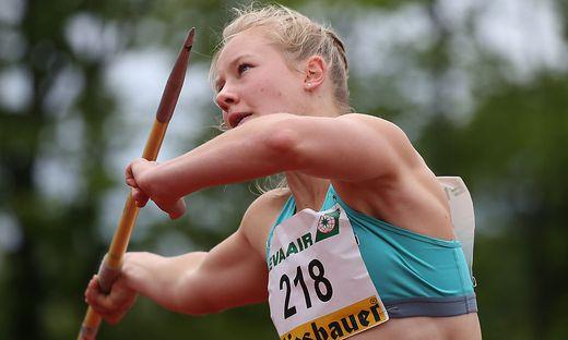 Kann Mehrkämpferin Sarah Lagger in Götzis ihre Bestmarke von 6225 Punkten knacken?