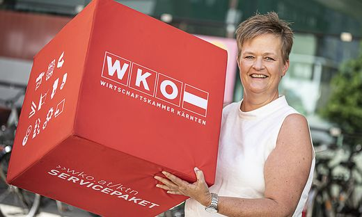 Die ausgebildete Fremdenführerin Astrid Legner ist die neue Vizepräsidentin der Wirtschaftskammer Kärnten