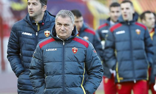 Ljubisa Tumbakovic ist nicht mehr Montenegro-Teamchef