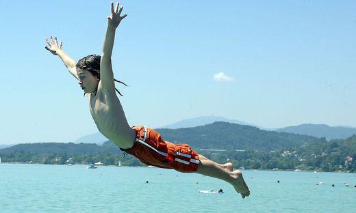 Ein Sprung in den See muss immer sein