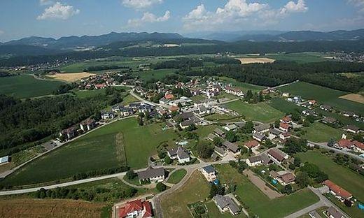 Poggersdorf ist eine der am stärksten wachsenden Gemeinden im Bezirk Klagenfurt-Land.