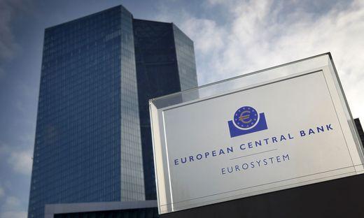 Hauptgebäude der EZB in Frankfurt