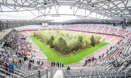 Rund 5000 Menschen kamen zur Eröffnung