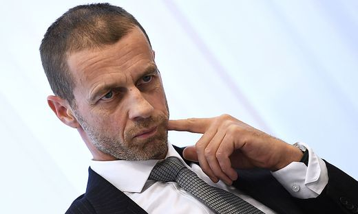 PRESSEGESPRAeCH UEFA-PRAeSIDENT CEFERIN IN KLAGENFURT