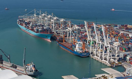 Der Hafen von Koper ist Sloweniens Tor zur Welt und für wichtiger Umschlagplatz für österreichische Unternehmen