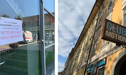 Altenheim und Club: Die Wochen der Cluster in Graz
