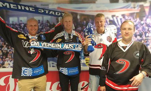 Lahtis Freunde: Arttu, Eero, Antti und Pasi (von links)