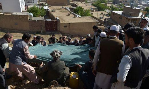 "Schiitischer ""Märtyrerfriedhof"" in Kabul"