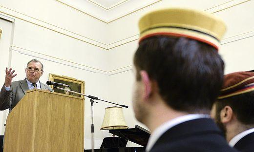 ++ ARCHIVBILD ++ EX-FPOe-POLITIKER LEITET BLAUE HISTORIKERKOMMISSION: WILHELM BRAUNEDER